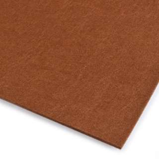 Войлок (для рукоделия) коричневый (3мм) ш.100 оптом