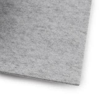 Фетр (для рукоделия) серый светлый меланж (3мм) ш.100 оптом