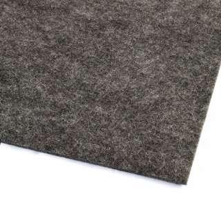 Фетр (для рукоделия) серый темный (3мм) ш.100 оптом