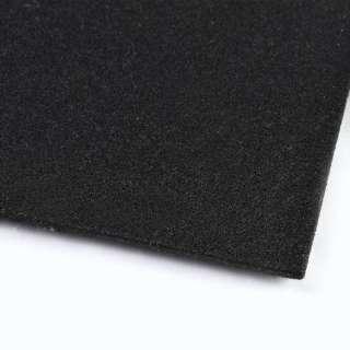 Фетр (для рукоделия) черный (3мм) ш.100 оптом