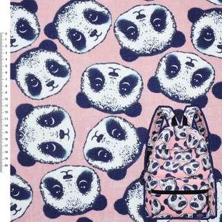 Деко-коттон розовый Панда ш.150 оптом