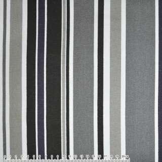 Деко-котон сіро-чорні, білі смужки ш.150 оптом