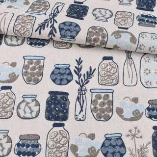Деко-льон білий, сині, сірі вази, банки, ш.150 оптом