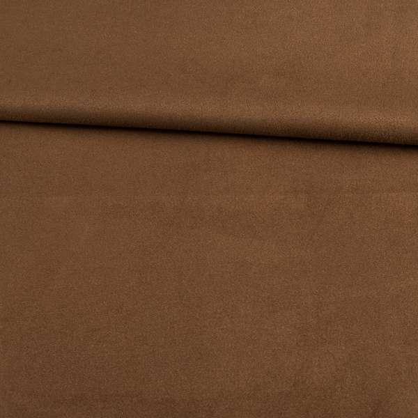 Замша на дайвинге коричневая темная, ш.153 оптом