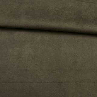 Замша на дайвинге оливковая, ш.160 оптом