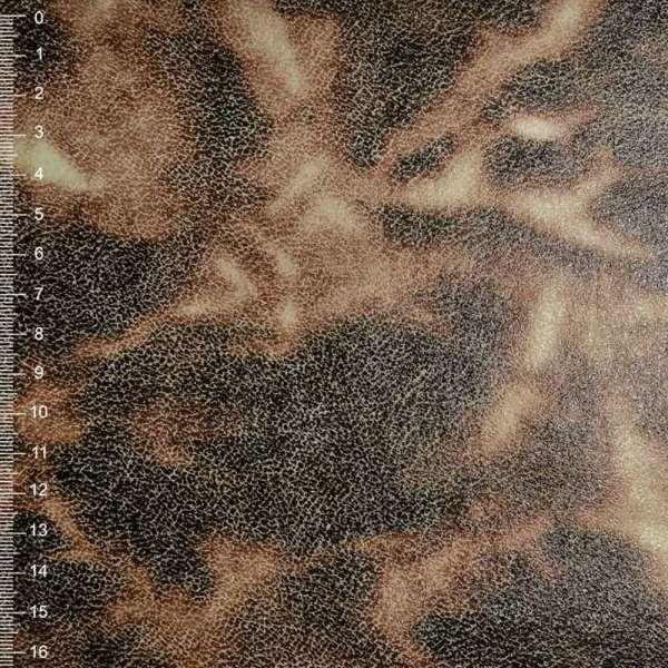 Замша искусственная бежевая с абстрактным рисунком оптом