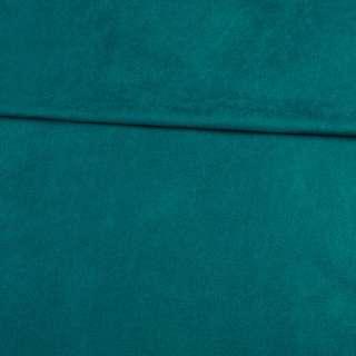 Замша стрейч морська хвиля, ш.152 оптом