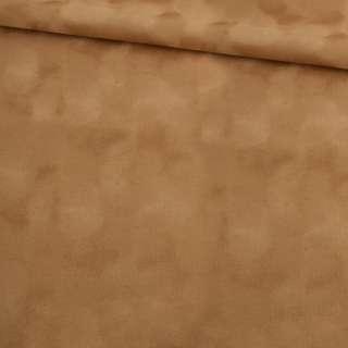 Замша флок темно-бежева ш.150 оптом