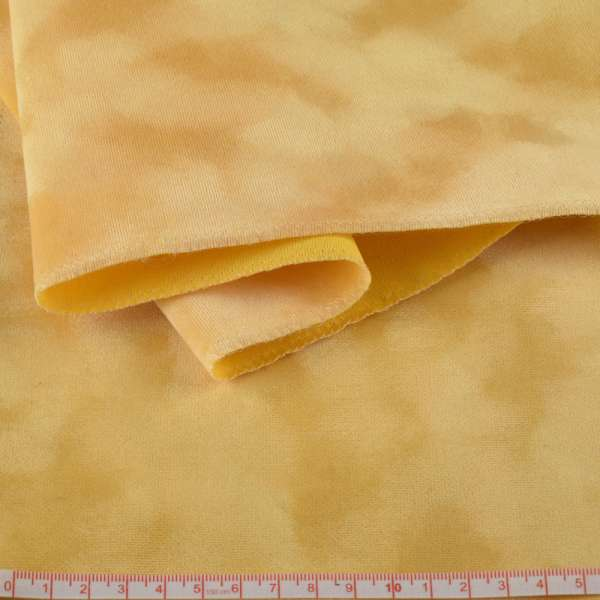 Замша флок желтая ш.150 оптом