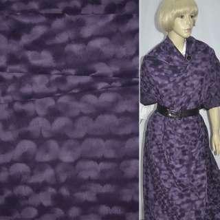 замша флок фиолетовая ш.150 см. оптом