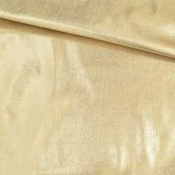 Замша искусственная с лазерным напылением золотистая, ш.150 оптом