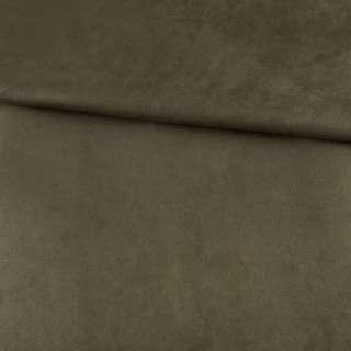 Замша на дайвинге оливковая, ш.154 оптом