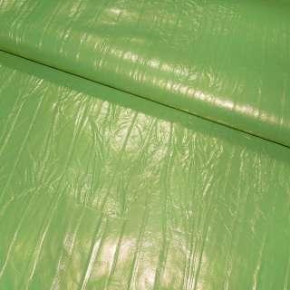 кожа иск. зеленая, ш.140 см оптом