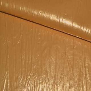 кожа иск. оранжево-желтая, ш.140 см оптом