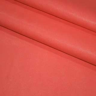 Кожа искусственная амарантовая (розовая) на флисе ш.140 оптом