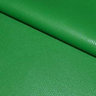 Шкіра штучна універсальна на флісі зелена ш.142 оптом