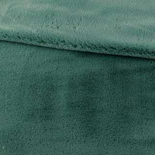 Хутро штучне кролик ворс 1см зелений ш.170 оптом
