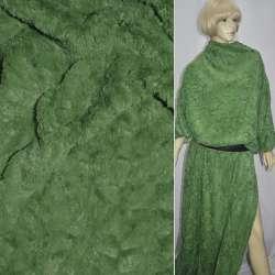 мех зеленый искусств. оптом