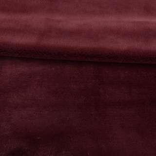 Мех кролик вишневый  ш.165 оптом