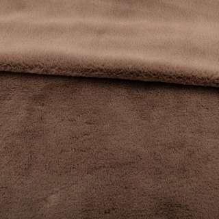 Мех кролик коричневый светлый ш.165 оптом