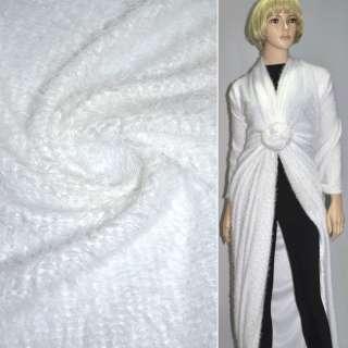 Мех вязан. белый ш.160 оптом