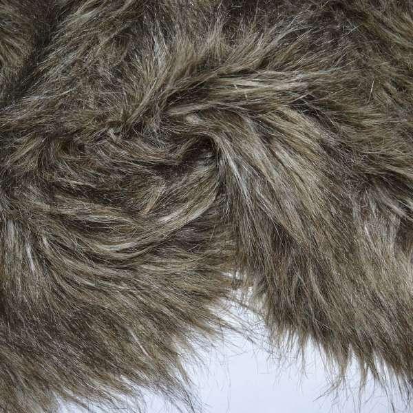 мех бежево-коричневый с черным  д/ворс  ш.155 оптом