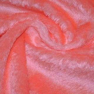 мех иск. оранжев.с бел. отлив.однотонный, ш.150 оптом