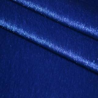 Хутро штучне коротковорсове темно-синє, ш.150 оптом