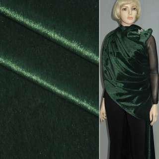 Хутро штучне коротковорсове темно-зелене, ш.150 оптом