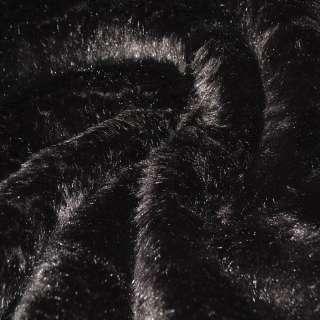 Хутро штучне довговорсове коричневе ш.170 оптом