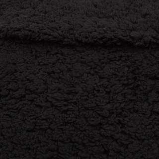 Мех искусственный черный, ш.155 оптом