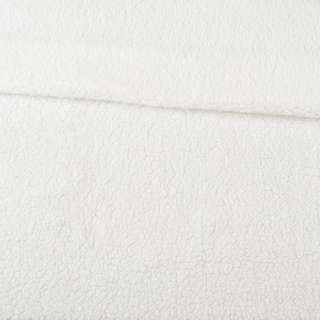 Мех искусственный овчина тонкий белый ш.175 оптом