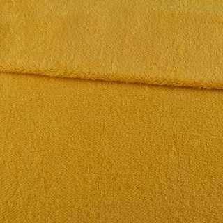 Мех искусственный овчина тонкий желтый ш.170 оптом