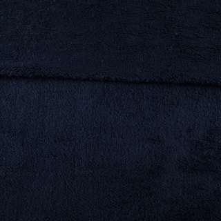 Мех искусственный овчина тонкий синий темный ш.175 оптом