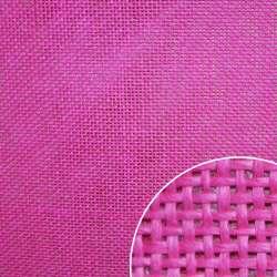 Рогожка из целлюлозы на флизелине малиновая, ш.150