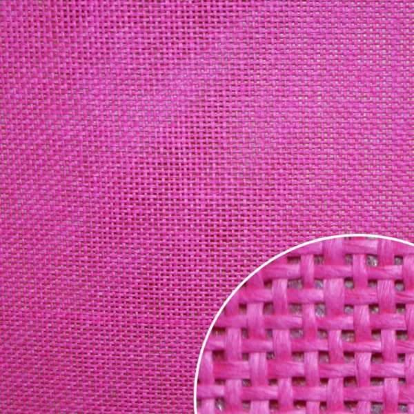 Рогожка из целлюлозы на флизелине малиновая, ш.150 оптом