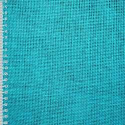 Рогожка из целлюлозы на флизелине голубая насыщенная, ш.150