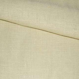Рогожка джутовая на флизелине молочная, ш.150 оптом