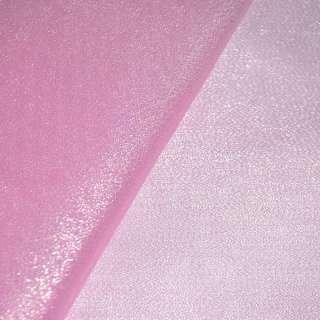 органза розовая с золот. люрексом ш.150 оптом
