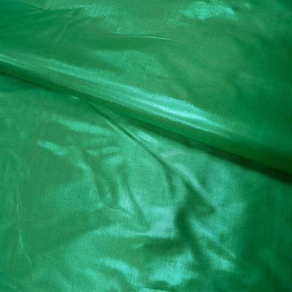 парча зеленая гладкая ш.150 оптом