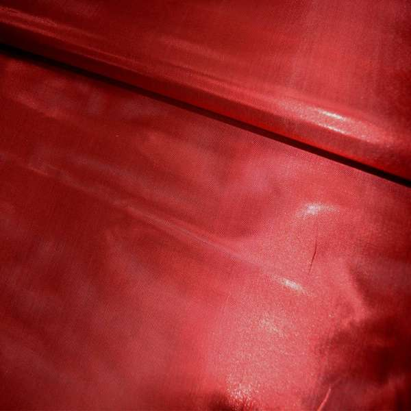 парча красная гладкая ш.150 см. оптом