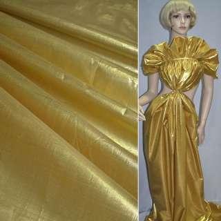 парча св. золото гладка ш.150 см. оптом