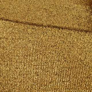 Мерехтливий трикотаж з м'якої мішури золото, ш.155 оптом