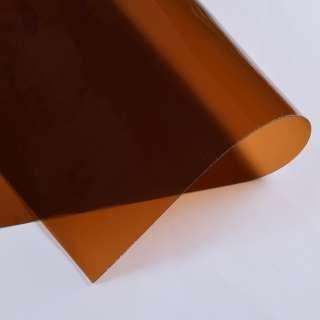 Силікон (0,5мм) коричневий прозорий ш.122 оптом
