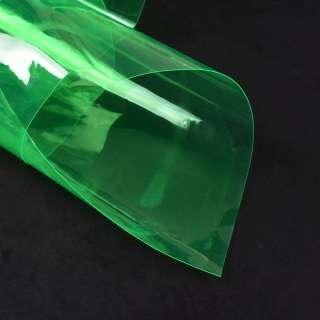 Силикон (0,3мм) зеленый прозрачный ш.122 оптом