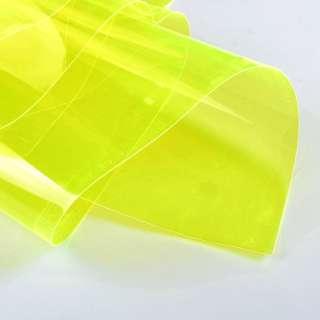 Силикон (0,3мм) желтый неон прозрачный ш.122 оптом