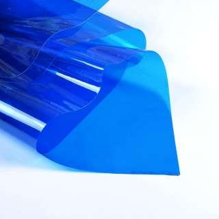 Силикон (0,3мм) синий прозрачный ш.122 оптом