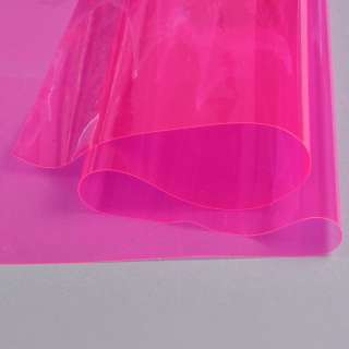 Силікон (0,2мм) малиновий прозорий ш.122 оптом