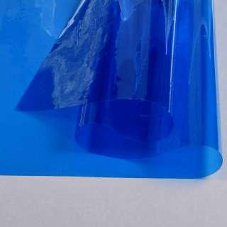 Силикон (0,2мм) синий прозрачный ш.122 оптом