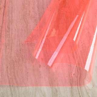 Силікон (0,2мм) рожевий світлий неон прозорий ш.122 оптом